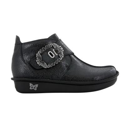 Alegria Caiti Black Swirl Boot