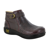 Alegria Dylan Molasses Tooled Boot
