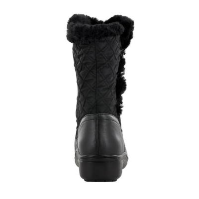 Alegria Nanook Quilted Black Boot