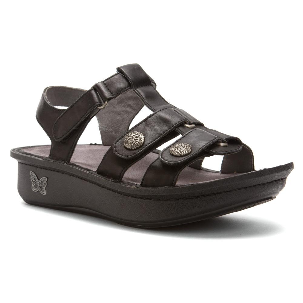 Alegria Kleo Dusty Black Sandale