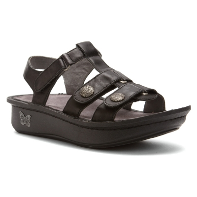 Alegria Kleo Dusty Black Sandale