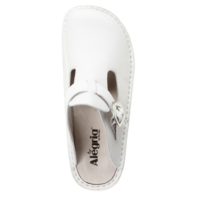 Alegria Donna Professional White Leather