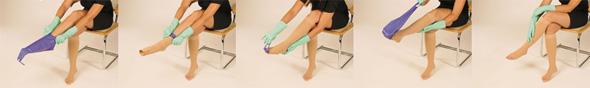 Oblačenje čarapa