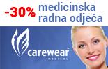 Medicinska odjeća cijena akcija